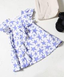 coen/【coen キッズ / ジュニア】STARフリルワンピース/501603414