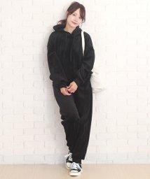 Amulet/ベロアセットアップ 韓国 ファッション レディース あったか やわらか 光沢 おしゃれ【A/W】【vl-5354】/501616292