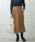 le.coeur blanc OUTLET/スエードラップロングストレートスカート/501616389