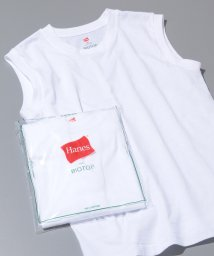 ADAM ET ROPE'/【Hanes FOR BIOTOP】Sleeveless T-Shirts/501616544