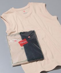 ADAM ET ROPE'/【Hanes FOR BIOTOP】Sleeveless T-Shirts(カラー)/501616545