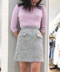 Noela/スプリングツイードスカート/501540288