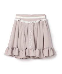 LODISPOTTO/バイカラーカフェスカート / mille fille closet/501552952