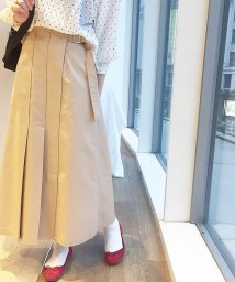FREDY REPIT/アシメプリーツマキシスカート/501595010