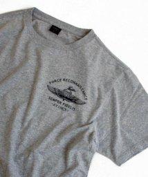 AVIREX/U.S.N.シールズ バックプリント ティーシャツ/U.S.N. SEALS BACK PRINT T-SHIRT/501617027