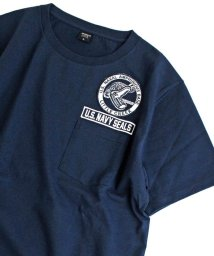 AVIREX/クルーネック ポケット ティーシャツ リトル クリーク/CREW NECK POCKET T-SHIRT/501617028