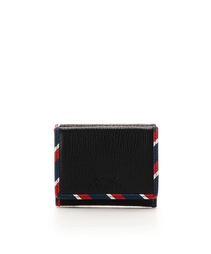 トリコロール 三つ折財布