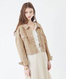 titivate/バックボタンゆるジャケット/501617614