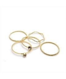 ninon/シンプル5点セット リング / 指輪セット/501619439