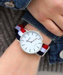 ninon/【geneva】 NATOベルト シンプルウォッチ / ユニセックス腕時計/501619465