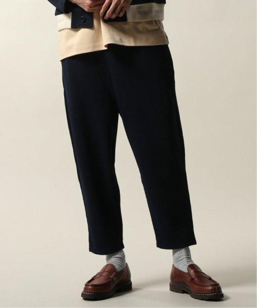 JOURNAL STANDARD relume Men's(ジャーナルスタンダード レリューム メンズ)/DROLE DE MONSIEUR / ドロールドムッシュ  Cropped Textured Pants/19030465002810