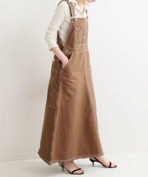 IENA/UNIVERSAL OVERALL 別注 オーバーオールスカート◆/501619609