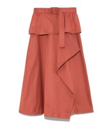 Lily Brown/ベルト付きトレンチスカート/501619643