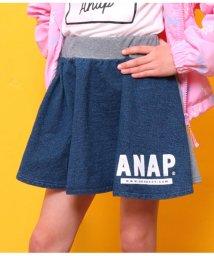ANAP KIDS/カットデニム×ミニ裏毛スカート/501585970