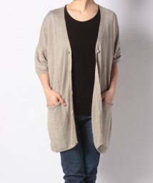 NICE CLAUP OUTLET/【pual ce cin】Vネックロングカーディガン/501597360