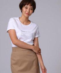 UNTITLED/シルケットメッセージTシャツ/501620578