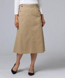 UNTITLED/シャンブレーツイルAラインスカート/501620604