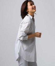 UNTITLED/ストライプスキッパーシャツ/501620616