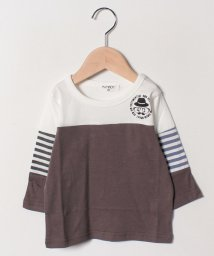A-MACH/切替7分丈Tシャツ/501592408