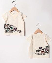 A-MACH/車半袖Tシャツ/501592421
