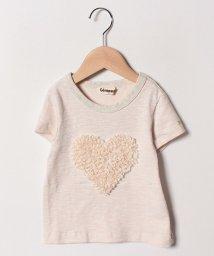 Gemeaux/ハートモチーフ半袖Tシャツ/501592423