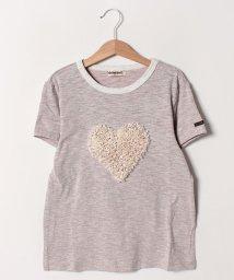 Gemeaux/ハートモチーフ半袖Tシャツ(150cm)/501592424
