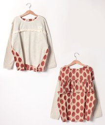 Gemeaux/オーバーサイズフリル長袖Tシャツ(150cm)/501592433