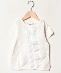 Gemeaux/段フリル半袖Tシャツ/501592469