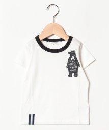 A-MACH/くま半袖Tシャツ/501593606