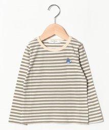 A-MACH/クジラ刺繍長袖Tシャツ/501593607