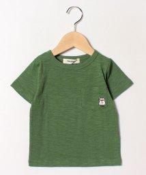 cucciolo/クマ刺繍Tシャツ/501593623