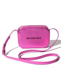 BALENCIAGA/【BALENCIAGA】ショルダーバッグ/EVERYDAY CAMERA BAG XS METALLI【CYCLAMEN】/501594813