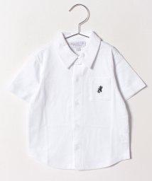 agnes b. ENFANT/J000 E CHEMISE レザールシャツ/501597047