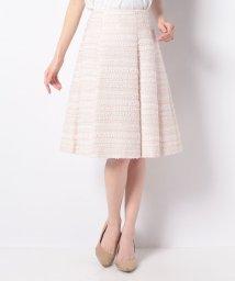 MISS J/【セットアップ対応】ファンシーツィード スカート/501599808