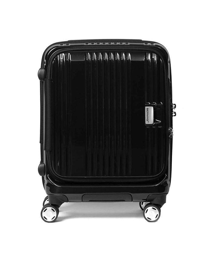 ギャレリア バーマス スーツケース BERMAS EURO CITY ユーロシティ 機内持ち込み 38L 60290 ユニセックス ブラック F 【GALLERIA】