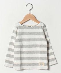 cucciolo/ボーダー長袖Tシャツ/501593622