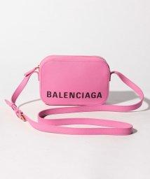 BALENCIAGA/【BALENCIAGA】ショルダーバッグ/VILLE CAMERA BAG XS【CYCLAMEN】/501594817