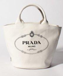 PRADA/【PRADA】ショルダー付きトートバッグ/CANAPA【BIANCO】/501594821