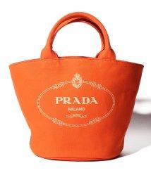 PRADA/【PRADA】ショルダー付きトートバッグ/CANAPA【ARANCIO】/501594822