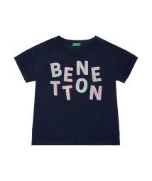 BENETTON (UNITED COLORS OF BENETTON GIRLS)/ベネトンロゴワイド半袖Tシャツ・カットソー/501596234