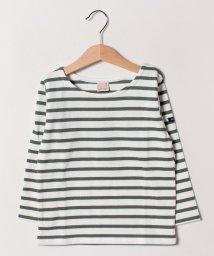 petit main/ベーシックボーダーTシャツ/501598721