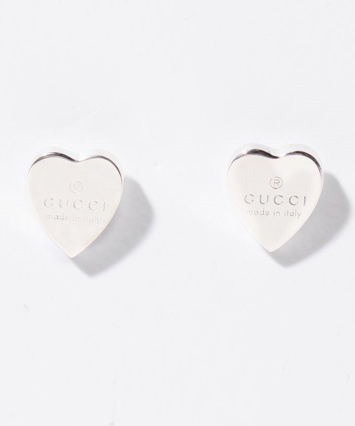 ed2ee4f8c032 GUCCI】TM STUD EARR W/GUCCI HEART SLV(501599845)   グッチ(GUCCI ...