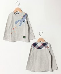 kladskap/肉ザウルスTシャツ/501602251