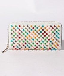 Christian Louboutin/【Christian Louboutin】W  PANETTONE WALLET NV CALF EMPIRE/SPIKES/501616258