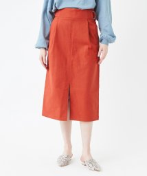 titivate/サイドベルトスリットAラインスカート/501621523