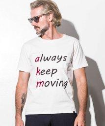 AKM Contemporary/AKM Contemporary(エイケイエムコンテンポラリー) メッセージプリントポケットTシャツ/501622142