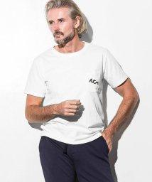 AKM Contemporary/AKM Contemporary(エイケイエムコンテンポラリー) 刺繍ロゴポケットTシャツ/501622143