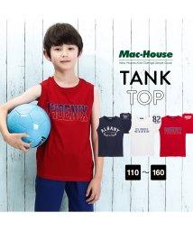 MAC HOUSE(kid's)/T-GRAPHICS プリントタンクトップ EJ193-KB084/501622329