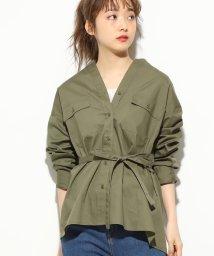 ViS/パッチポケット付きオーバーサイズシャツ/501623934