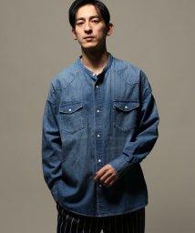 JOURNAL STANDARD relume Men's/DENIM WESTERN ワイドバンドカラーシャツ/501624365